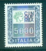 Italy 1979 Italia Type 5000l MUH - 6. 1946-.. Republic