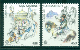 San Marino 1982 Europa MUH Lot40230 - Unused Stamps