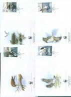 Poland 2003 WWF Osprey 4x FDC Lot77022 - Unused Stamps