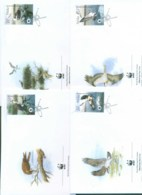 Poland 2003 WWF Osprey 4x FDC Lot77022 - 1944-.... Republic
