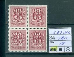 53  Xx Bloc De 4 Côte 120.00€ - Service