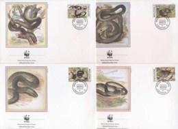 Moldova 1993 WWF Aesculapian Snake FDC - Moldova