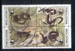 Moldova 1993 WWF Aesculapian Snake MUH - Moldova