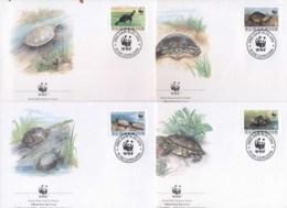Slovenia 1996 WWF European Pond Tortoise FDC - Slovenia