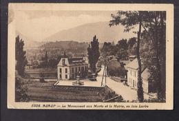 CPA 64 - ASASP - Le Monument Aux Morts Et La Mairie , Au Loin LURBE - TB PLAN CENTRE VILLAGE - Frankreich
