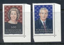 Liechtenstein 1991 Prince & Princess MUH - Liechtenstein