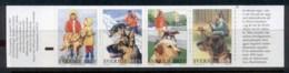 Sweden 2001 Working Dogs Booklet MUH - Sweden
