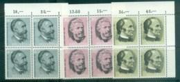 Switzerland 1974 Centenary Of UPU Portraits Blk 4 MUH Lot76415 - Switzerland
