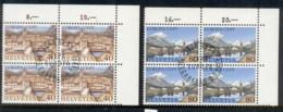 Switzerland 1977 Europa Blk4 CTO - Switzerland