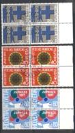 Switzerland 1977 Anniversaries Blk4 CTO - Switzerland