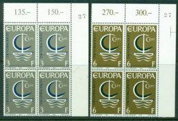 Luxembourg 1966 Europa Block 4 MUH Lot17603 - Unused Stamps