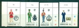 Gibraltar 1972 Military Uniforms MUH Lot55371 - Gibraltar