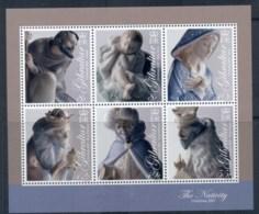 Gibraltar 2007 Xmas, Porcelain Nativity Figures MS MUH - Gibraltar
