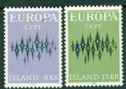 Iceland 1972 Europa MUH Lot15766 - 1944-... Republic