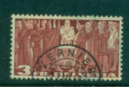 Switzerland 1938 3fr First Federal Pact FU Lot59052 - Switzerland