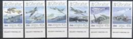 Gibraltar 2008 RAF 90th Anniv, Planes MUH - Gibraltar