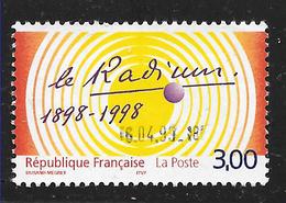 FRANCE 3210 Centenaire De La Découverte Du Radium Par Pierre & Marie Curie . - Used Stamps