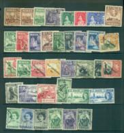 Malta 1937 On KGVI Assorted Oddments FU Lot53623 - Malta