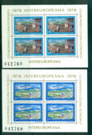 Romania 1979 IECEC 2xSheetlet MUH Lot58749 - 1948-.... Republics