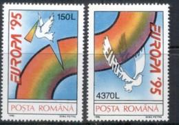 Romania 1995 Europa, Peace Dove MUH - 1948-.... Republics