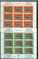 Yugoslavia 1972 Intl. Railroad Union Sheetlets MUH Lot40684 - Yugoslavia