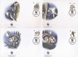 Estonia 1994 WWF European Flying Squirrel FDC - Estonia