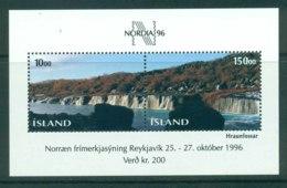 Iceland 1995 Nordia '96 MS MUH Lot32427 - 1944-... Republic
