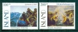 Iceland 1996 Paintings MUH Lot32434 - 1944-... Republic