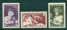 Saar 1953 Child Welfare MLH Lot38513 - 1947-56 Protectorate
