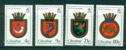 Gibraltar 1985 Navy Crests MH Lot20729 - Gibraltar