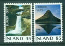Iceland 1977 Europa, Landcapes MUH Lot65668 - 1944-... Republic