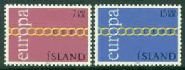 Iceland 1971 Europa MUH Lot15285 - 1944-... Republic