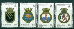 Gibraltar 1986 Navy Crests MH Lot20737 - Gibraltar