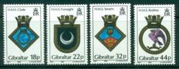 Gibraltar 1988 Navy Crests MH Lot20741 - Gibraltar