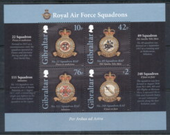 Gibraltar 2012 RAF Squadrons MS MUH - Gibraltar