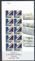 Gibraltar 2000 European Soccer, France MS MUH - Gibraltar