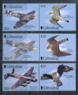 Gibraltar 2000 Wings Of Prey III, Birds, Airplanes MUH - Gibraltar