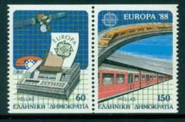 Greece 1988 Europa Booklet Pair MUH Lot15417 - Greece