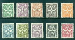 Malta 1968 Postage Dues MLH - Malta