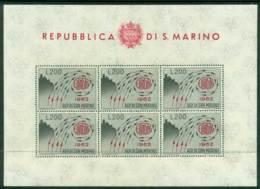 San Marino 1962 Europa MS MUH Lot17439 - San Marino