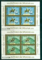 Romania 1978 IECEC 2xSheetlet MUH Lot58748 - 1948-.... Republics