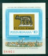 Romania 1975 ESSEN '78, Romulus & Remus IMPERF MS MUH Lot58759 - 1948-.... Republics