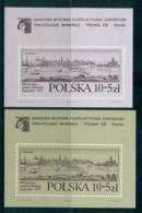 Poland 1973 Poznan View Engraving 2xMS MUH Lot57466 - 1944-.... Republic