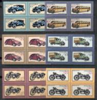 Poland 1987 Motor Vehicles Blk4 MUH - 1944-.... Republic