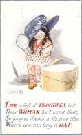 """V.W.Sternberg. Life Is Full Of Troubles, But..."" Tuck Oilette Al For Her Series PC # 8466 - Tuck, Raphael"