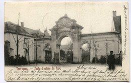 CPA - Carte Postale - Belgique - Tervuren - Porte D'entrée Du Parc - 1902 ( DD7286) - Tervuren