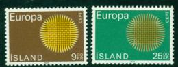 Iceland 1970 Europa MUH Lot15765 - 1944-... Republic