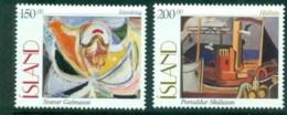 Iceland 1997 Paintings MUH Lot32443 - 1944-... Republic