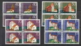 Liechtenstein 1975 European Architectural Heritage Year Blk4 CTO - Liechtenstein