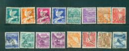 Switzerland 1932 Definitives Asst, Dove, Views FU Lot59074 - Switzerland